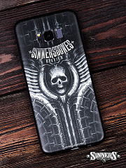 "Case for Smartphones SAMSUNG ""REQUIEM"""