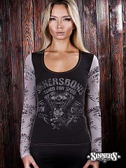 "Women's Long Sleeve Shirt ""Tuned for Speed"""