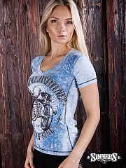 "Frauen-T-Shirt ""WHEELS of FIRE"""