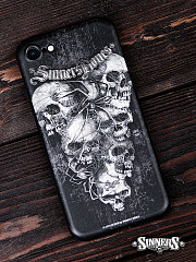 "Case for Smartphone iPhone ""Crypt"""