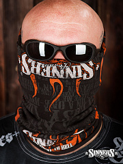"Multifunktionsschlauch Bandana ""Highway to Hell"""