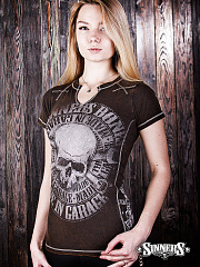 "Frauen-T-Shirt ""MADE in GARAGE"""