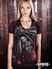 "Frauen-T-Shirt ""Welcome to Hell"""