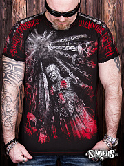"Man's T-Shirt ""Welcome to Hell"""